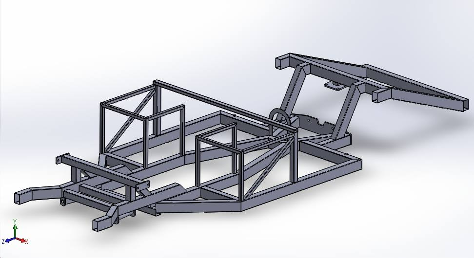 Cobra - Flat Packed Chassis Kit - laser cut chassis tubes